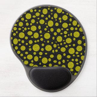 Goldenes Blasen-Gel Mousepad