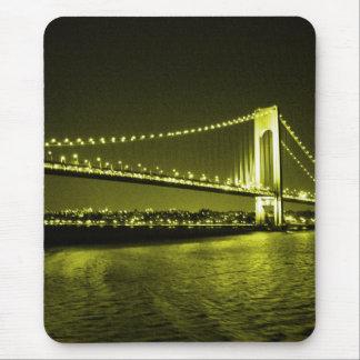 Goldenes Brücke mousepad