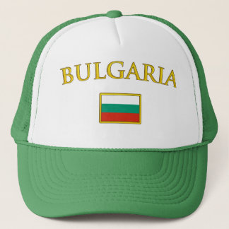Goldenes Bulgarien Truckerkappe