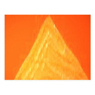 Goldenes Dreieck - Threesome-Herzen Postkarte