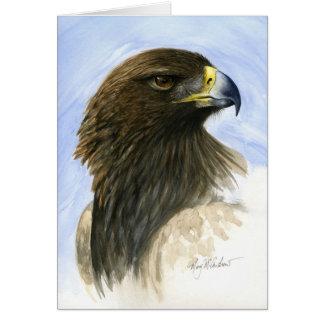 """""""Goldenes Eagle """" Karte"""