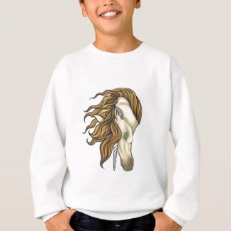 Goldenes Einhorn Sweatshirt