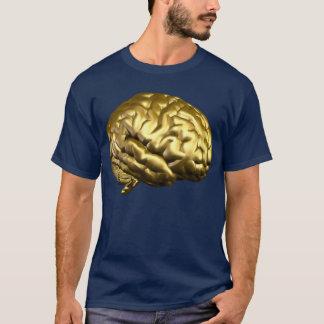 Goldenes Gehirn T-Shirt