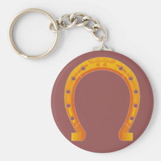 Goldenes HufeisenKeychain Schlüsselanhänger