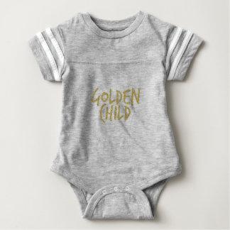 Goldenes Kind Baby Strampler