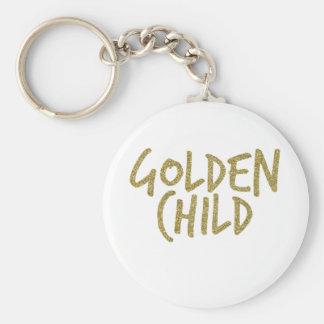 Goldenes Kind Schlüsselanhänger