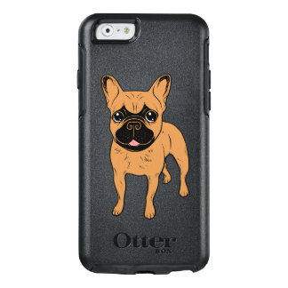 Goldenes Kitz Frenchie OtterBox iPhone 6/6s Hülle