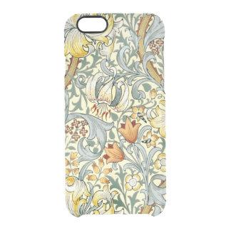 Goldenes Lilien iPhone 6/6S klären Fall Durchsichtige iPhone 6/6S Hülle