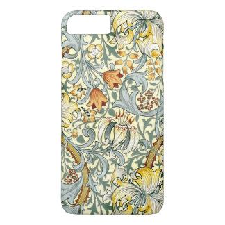 Goldenes Lilien iPhone X/8/7 plus kaum dort Fall iPhone 8 Plus/7 Plus Hülle