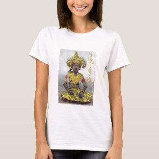 Goldenes Mädchent-shirt T-Shirt