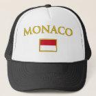 Goldenes Monaco Truckerkappe