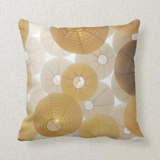 Goldenes neues Weiß des Polyester Kissen
