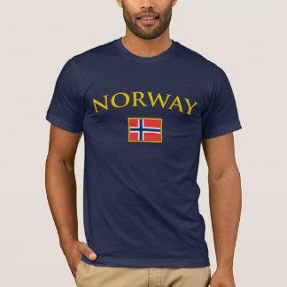 Goldenes Norwegen T-Shirt