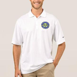 Goldenes Schläger-Nike-Polo-Shirt Polo Shirt