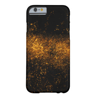 Goldenes Tinten- oder Wasserspritzen Barely There iPhone 6 Hülle