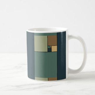 Goldenes Verhältnis quadriert (neutrale Personen) Kaffeetasse