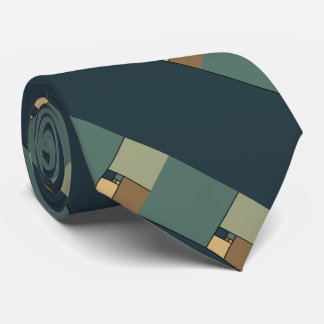 Goldenes Verhältnis quadriert (neutrale Personen) Personalisierte Krawatten