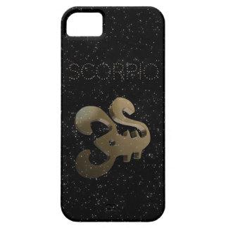 Goldenes Zeichen des Skorpions iPhone 5 Etui