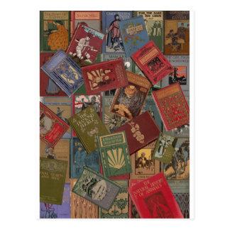 Goldenes Zeitalter der Bücher Postkarte