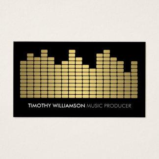Goldentzerrer-Musiker, DJ, Band-Visitenkarte Visitenkarten