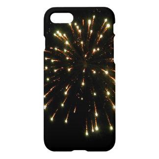 GoldFeuerwerks-Explosion iPhone 7 Hülle