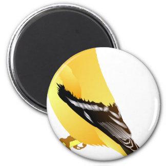 Goldfinch Runder Magnet 5,7 Cm