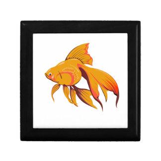 Goldfisch Erinnerungskiste