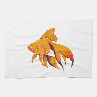 Goldfisch Handtuch