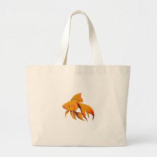 Goldfisch Jumbo Stoffbeutel