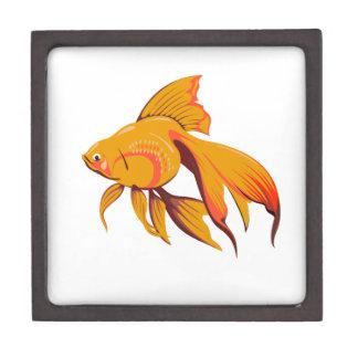 Goldfisch Schmuckkiste