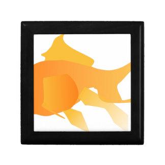 Goldfisch Schmuckschachtel