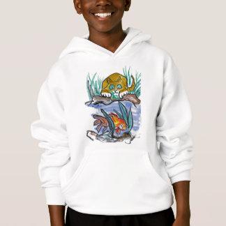 Goldfisch-und Libellen-Faszination - Hoodie