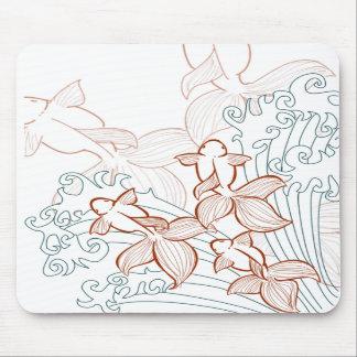 Goldfisch-Vektor Mousepad