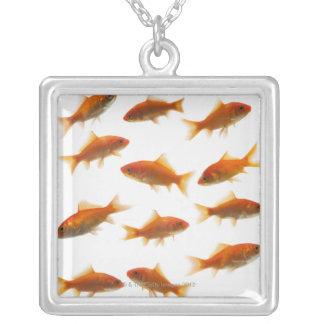 Goldfisch Versilberte Kette