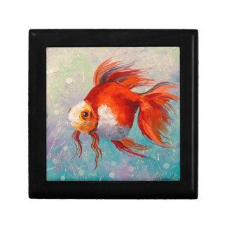 Goldfische Schmuckschachtel