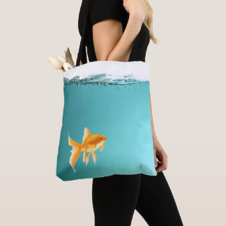 Goldfish-Taschen-Tasche ganz über Druck Tasche