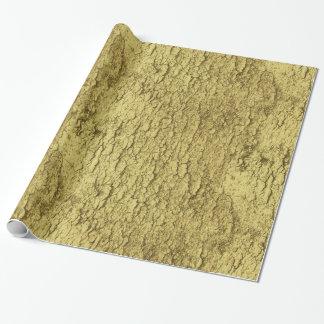 Goldflocken Geschenkpapier