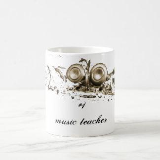 Goldflöte, Lehrer der Musik #1 Tasse