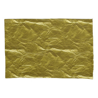 Goldfolie Kissen Bezug