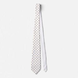Goldfunkelnde Anker Bedruckte Krawatten