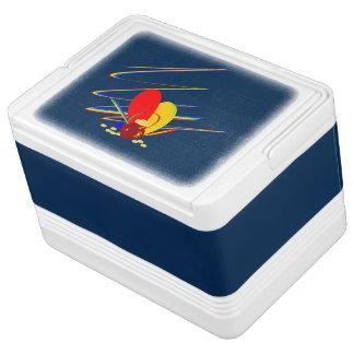 Goldgeld-ANG-Magieregenbogen Kühlbox