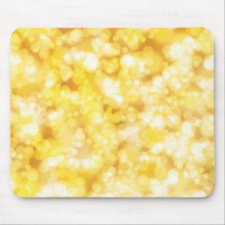 Goldglänzender Luxus Mousepads