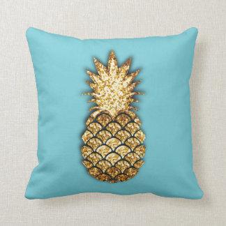 GoldGlitter-Ananaskissen Kissen