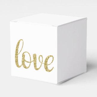 GoldGlitter-Bevorzugungskasten Geschenkschachtel