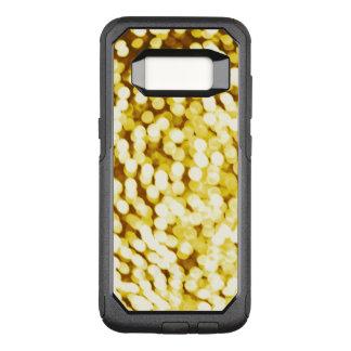 GoldGlitter Bokeh OtterBox Commuter Samsung Galaxy S8 Hülle