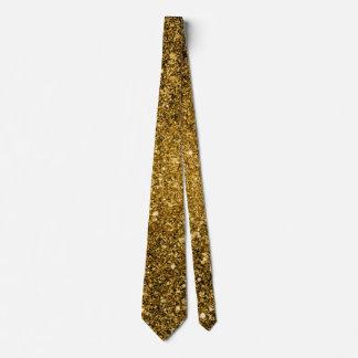 GoldGlitter-Krawatte Krawatte