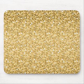 GoldGlitter-Muster Mousepad