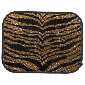 GoldGlitter-Tigerstreifen Autofußmatte