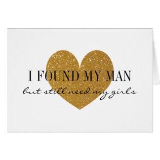 GoldGlitterherz sind- Sie meine Karte