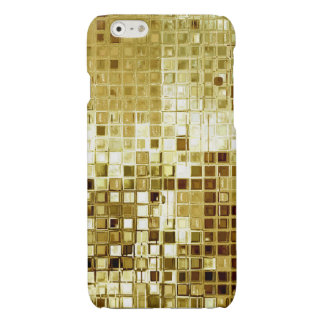 GoldGlittersequins-Blick iPhone Fall